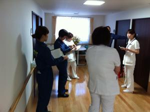 消防点検勉強会を行いました。