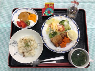 クリスマスの昼食